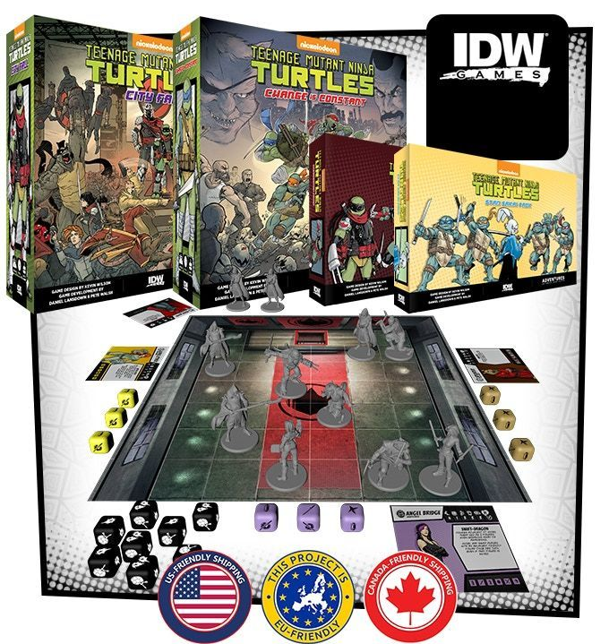 TMNT Board Games