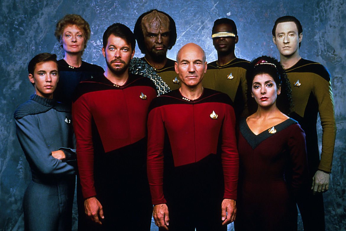 Star Trek: The Next Generation original costumes