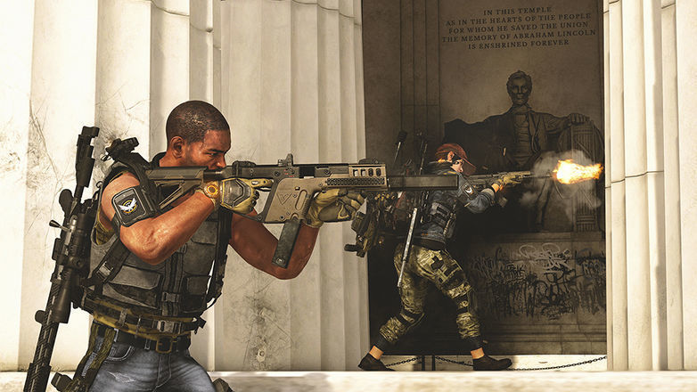 Tom Clancy's The Division 2, Lincoln Memorial