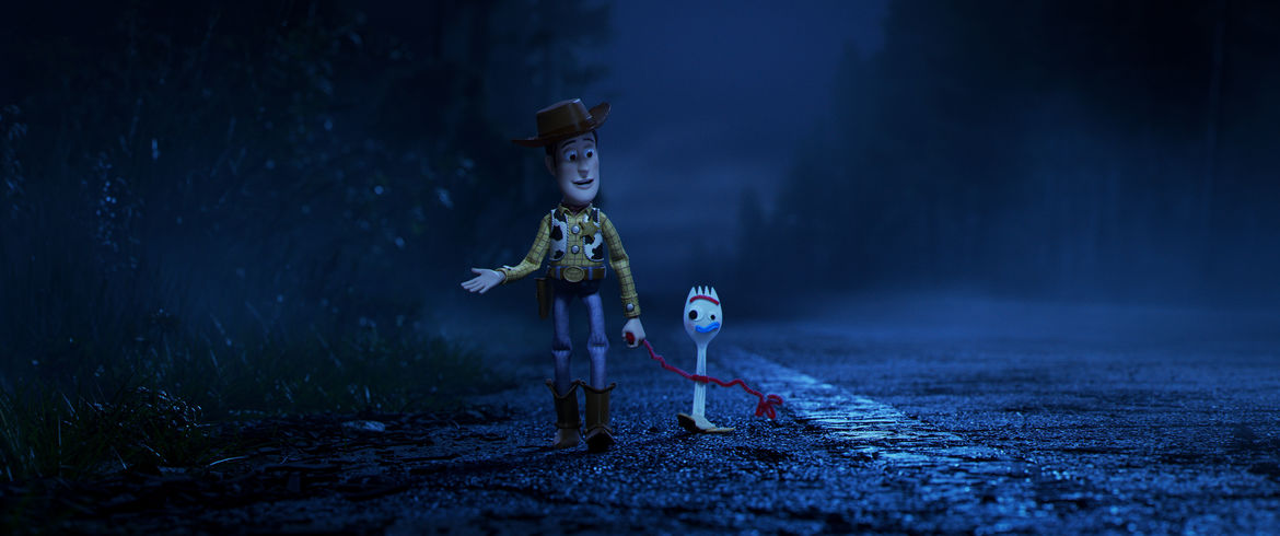 Woody and Forky Toy Story 4