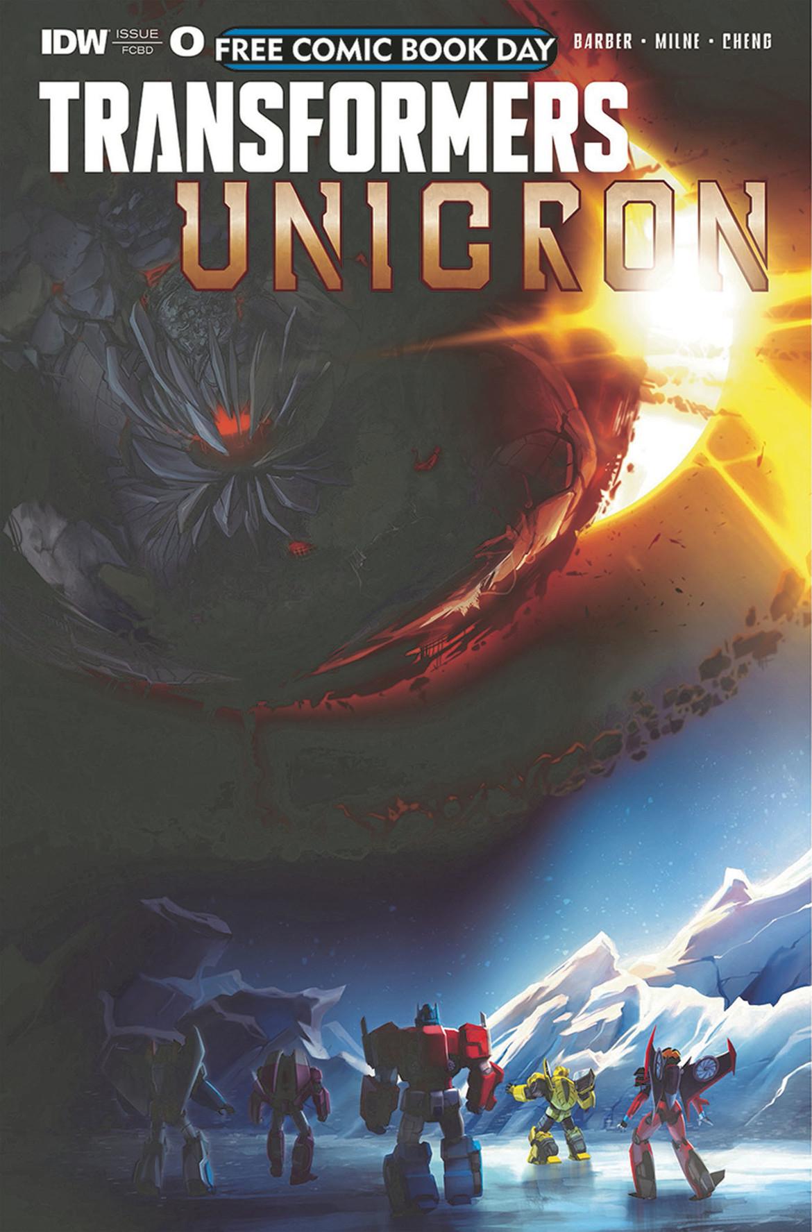 Transformers: Unicron FCBD 2018