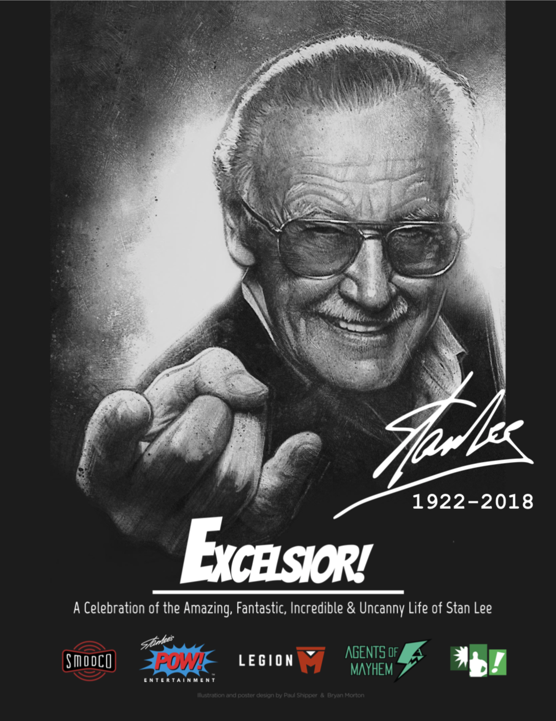 Stan Lee Tribute Poster
