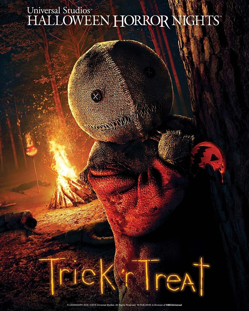 Trick r Treat Halloween Horror Nights poster