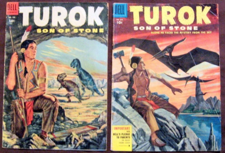 Turok 1954 Dell Comics