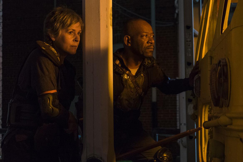 The Walking Dead episode 809 - Carol and Morgan