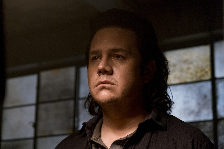 The Walking Dead episode 811 - Eugene looking sad