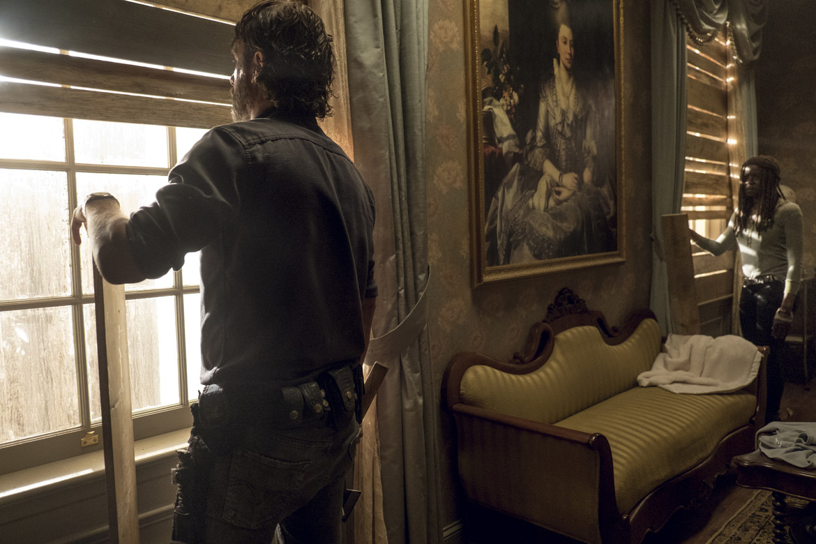 The Walking Dead episode 813 - Rick and Michonne