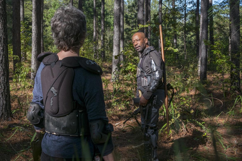 The Walking Dead episode 814 - Morgan and Carol