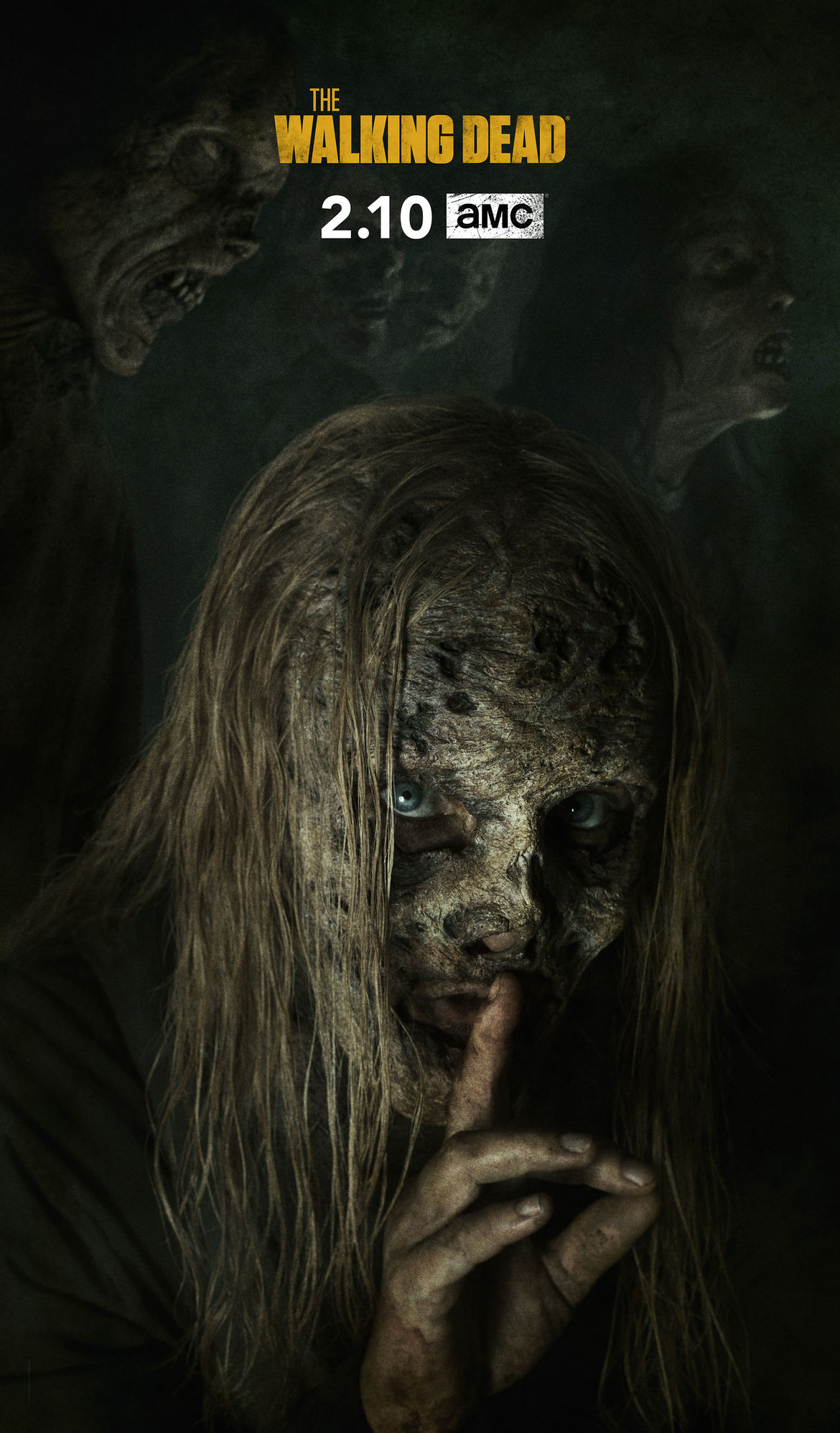 The Walking Dead Alpha hed