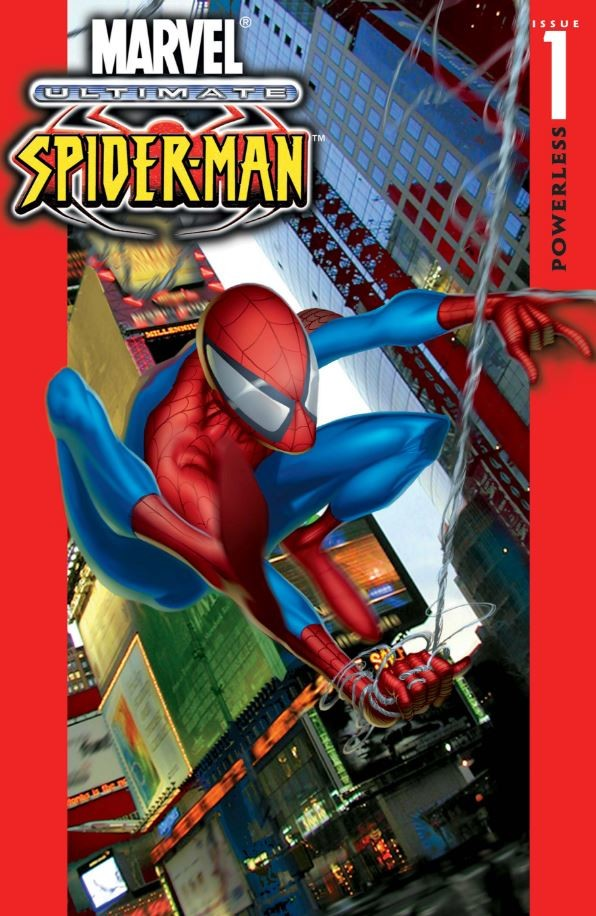 Ultimate Spider-Man #1 cover
