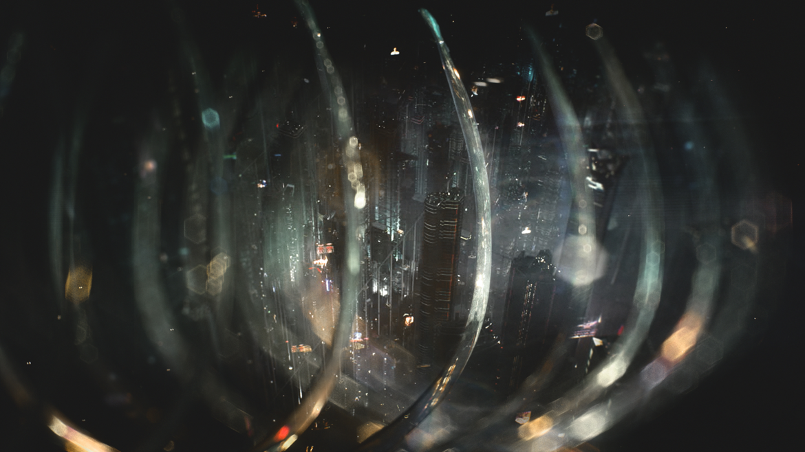 Altered Carbon opening sequence