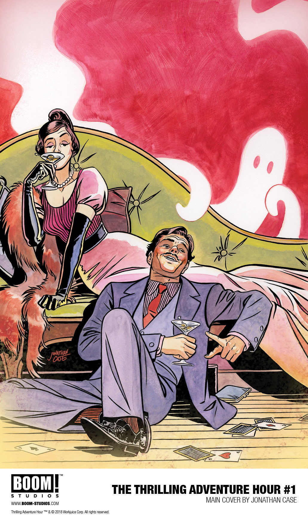 The Thrilling Adventure Hour comic
