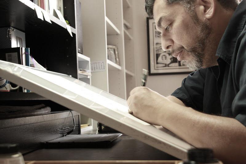 Jamie Hernandez (Courtesy Photo via Fantagraphics)