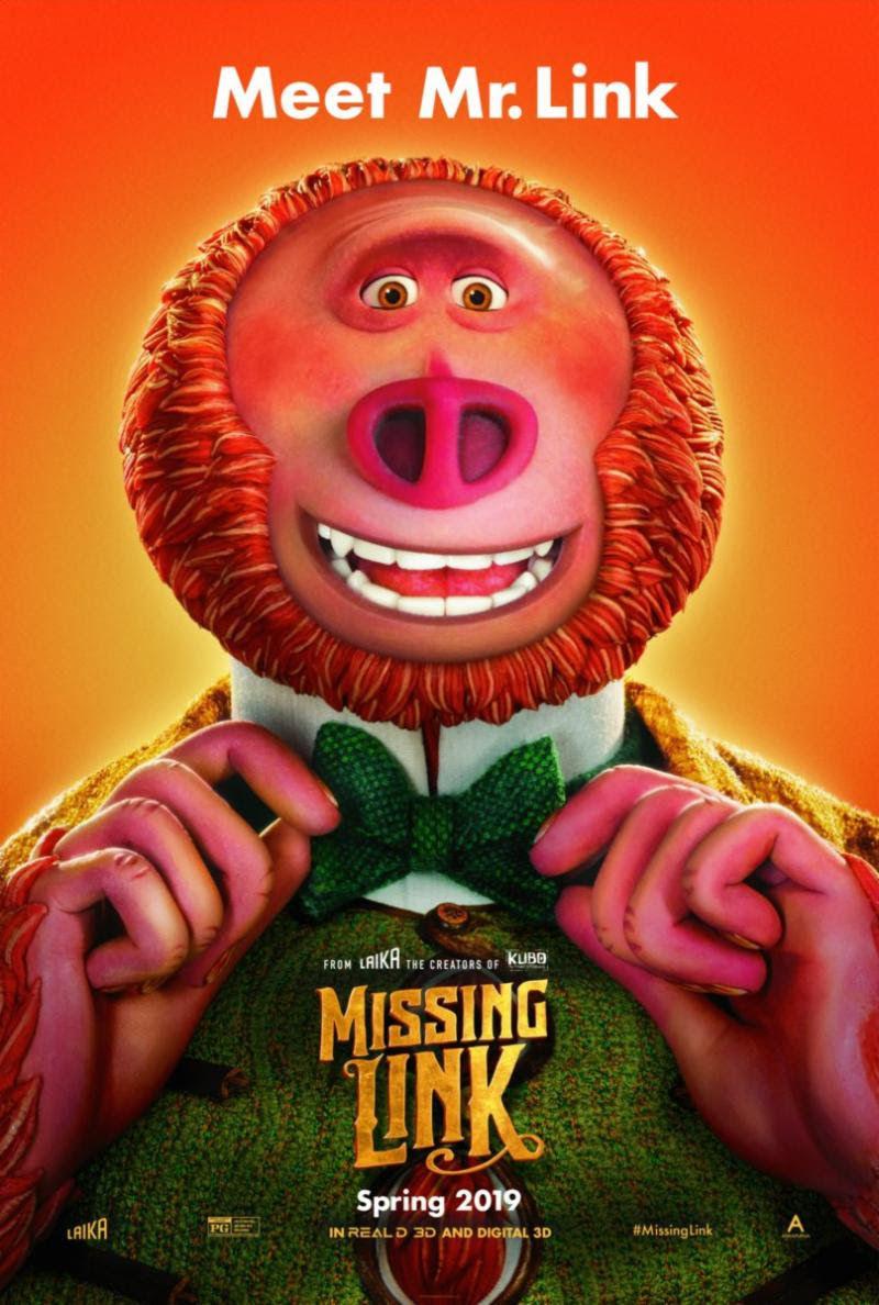 Missing Link Laika Studios poster