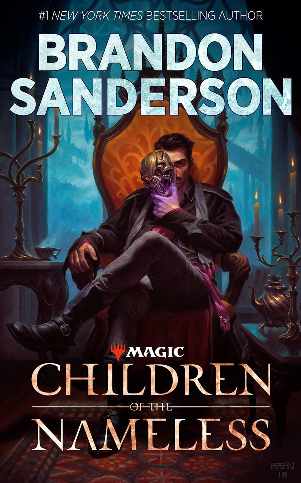 Brandon Sanderson Magic The Gathering