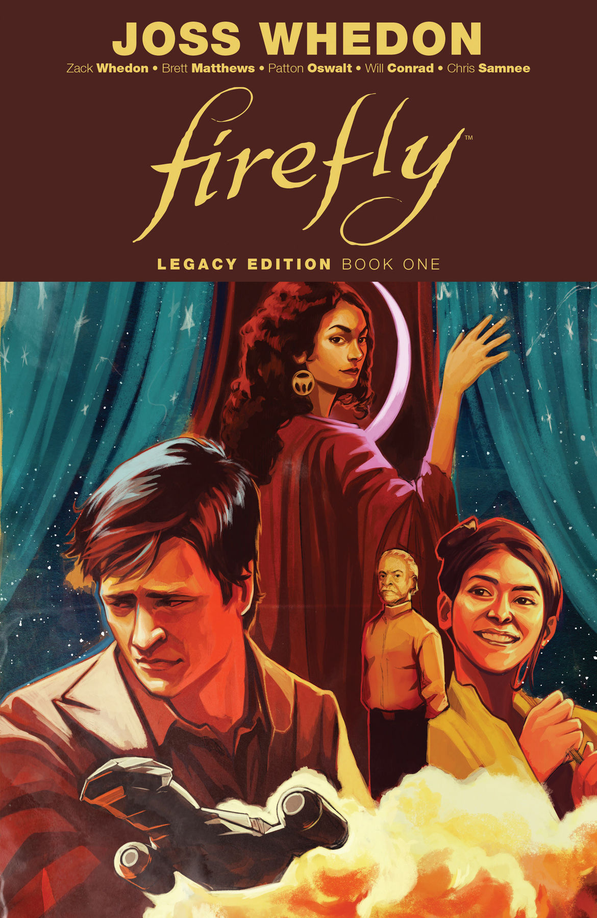 Firefly Legacy Edition Book One cover