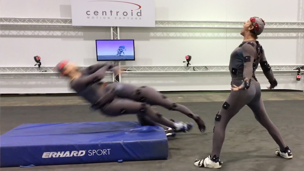 motion capture for Pacific Rim: Uprising