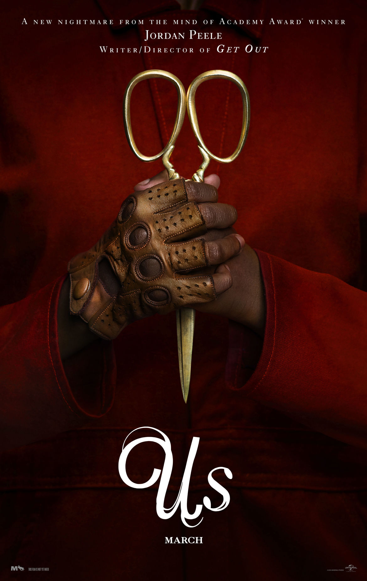 Us Jordan Peele movie poster