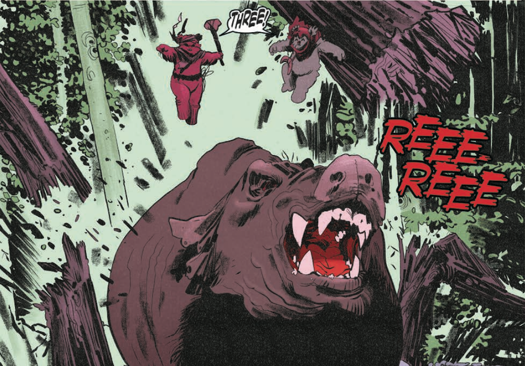 Exclusive Ewoks Hunt The Gorax In First Look At Idws Tales From