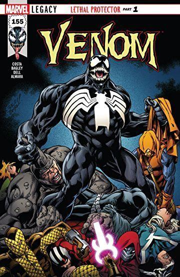 Venom comic cover