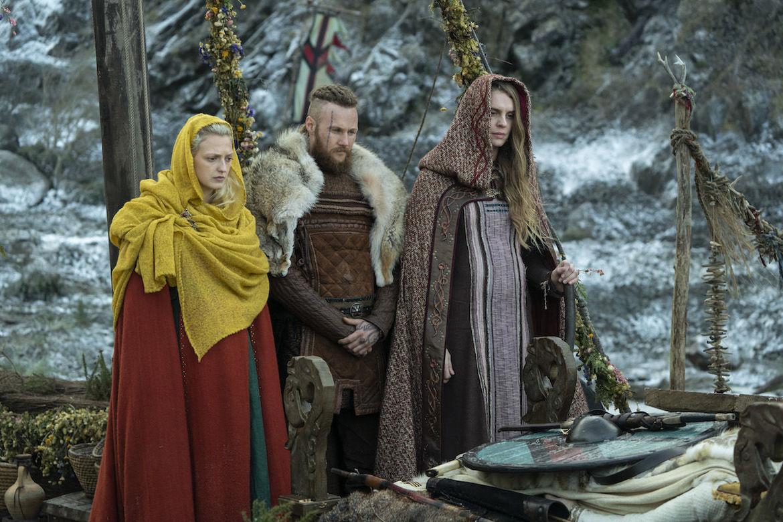 Vikings 607 Torvi Ubbe and Gunnhild