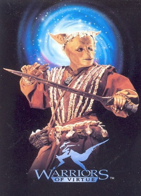 1990s Fantasy Martial Arts Movie