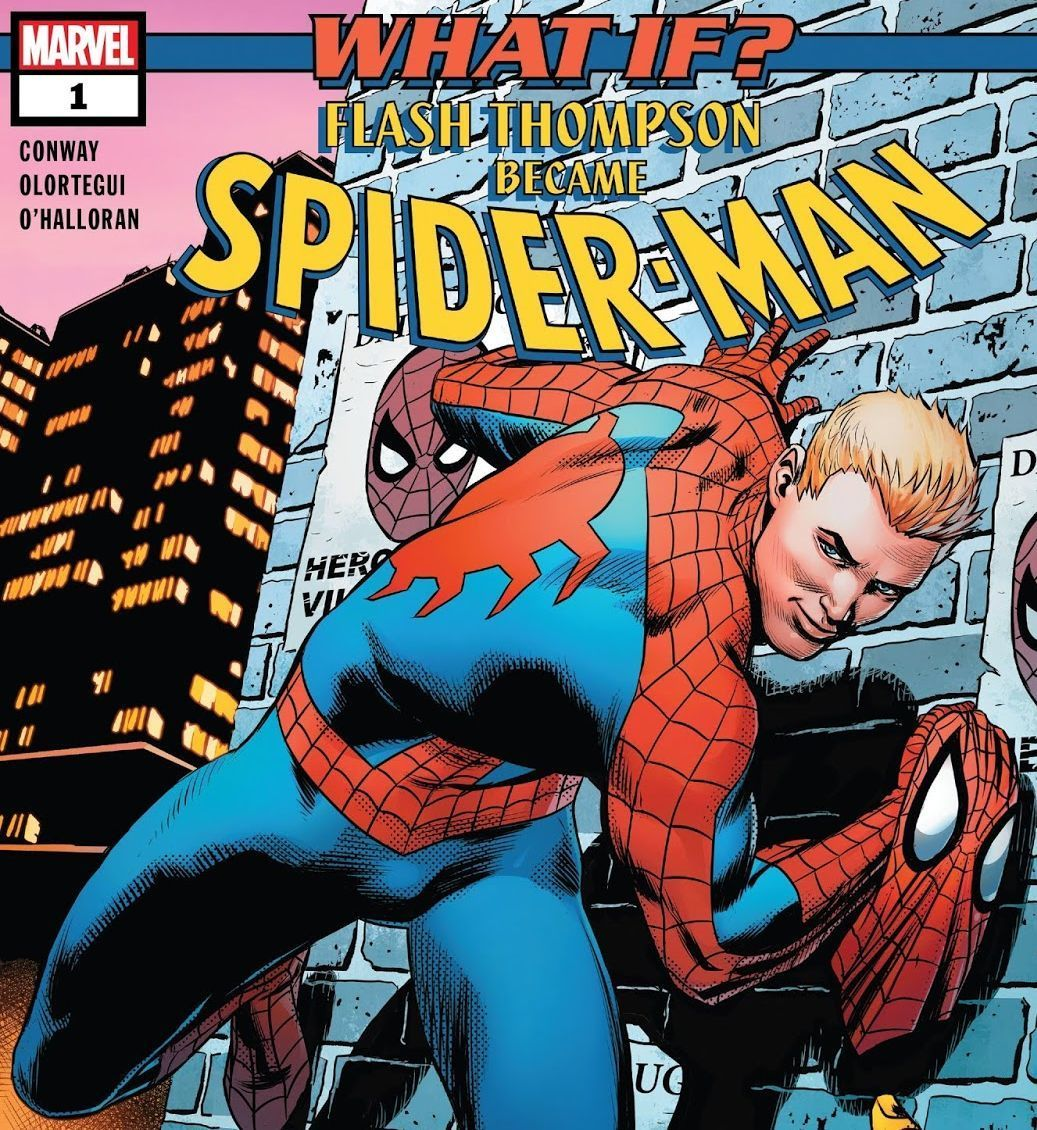 What If? Spider-Man (Written by Gerry Conway, Art by Diego Olortegui‏)