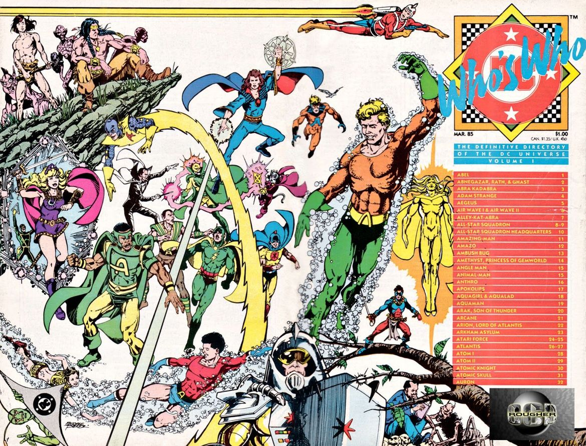 Who's Who: The Definitive Directory of the DC Universe (Written by Marv Wolfman, Art by George Perez)