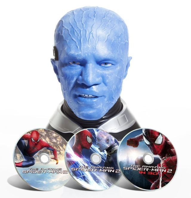 Amazing Spider-Man 2 Blu-ray Bust front