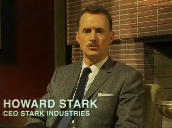 John Slattery as Howard Stark