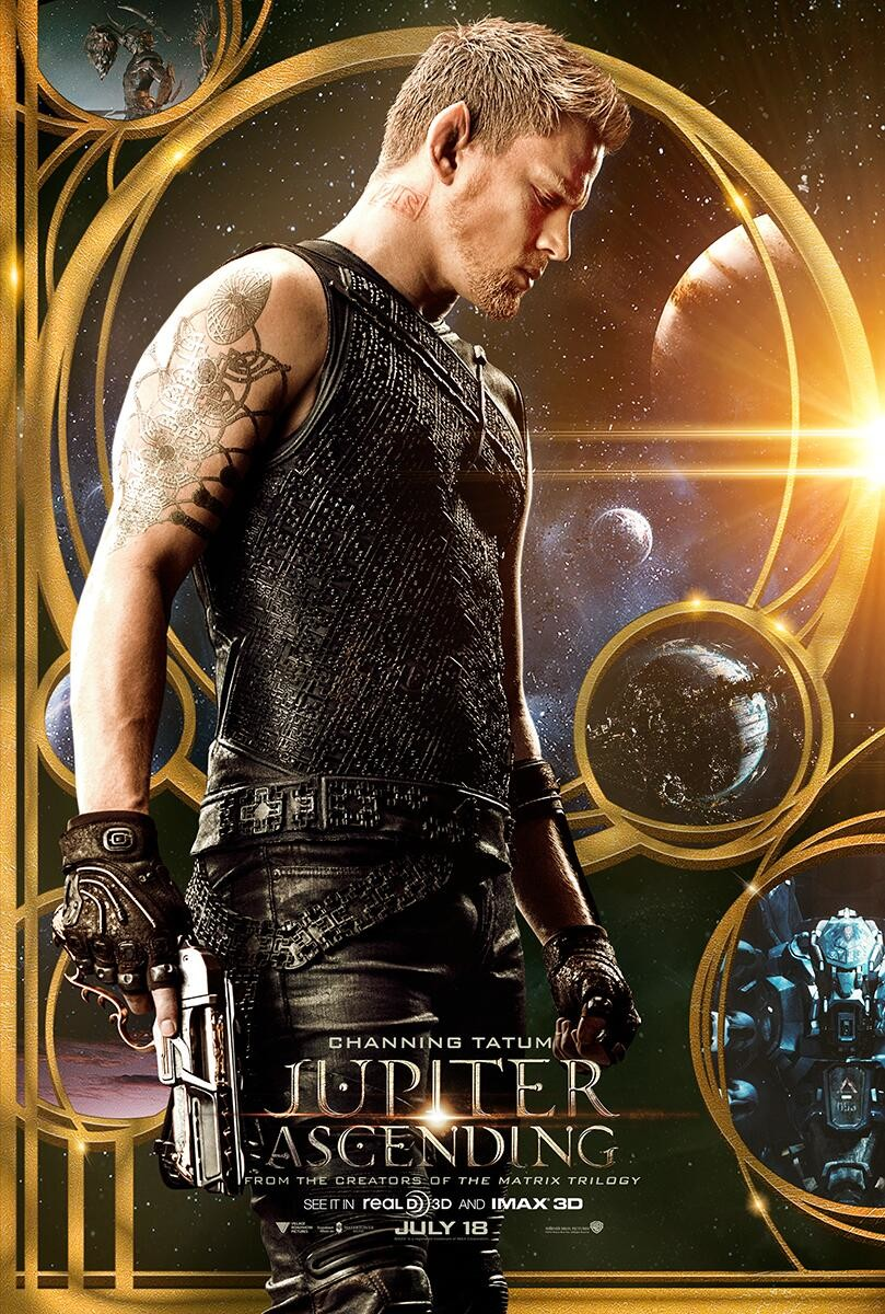 Jupiter Ascending Channing Tatum poster