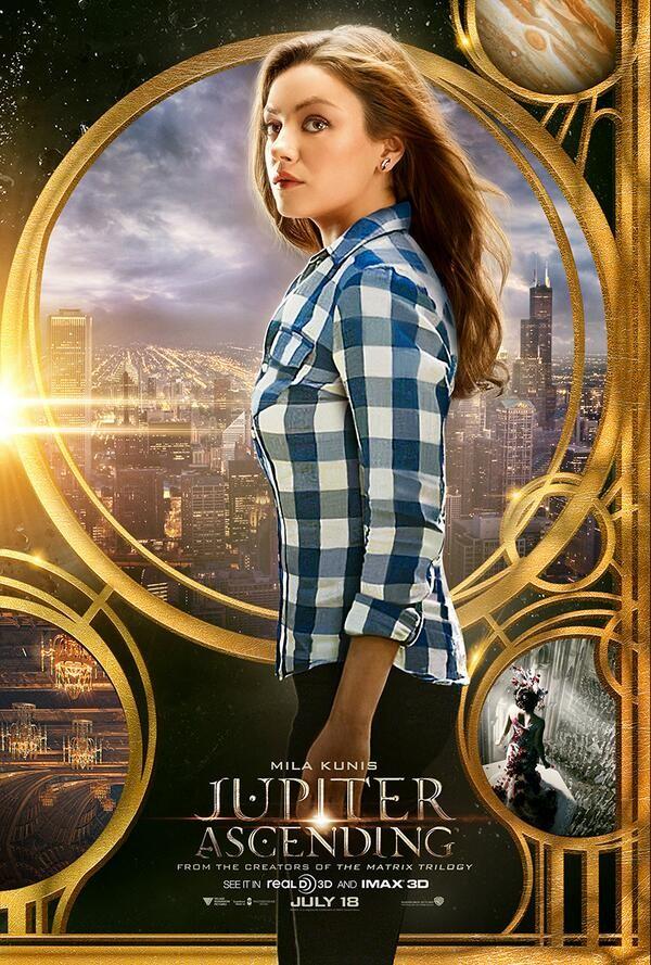 Jupiter Ascending Mila Kunis poster