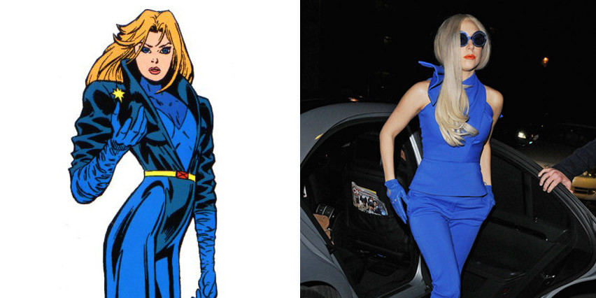 lady gaga and dazzler
