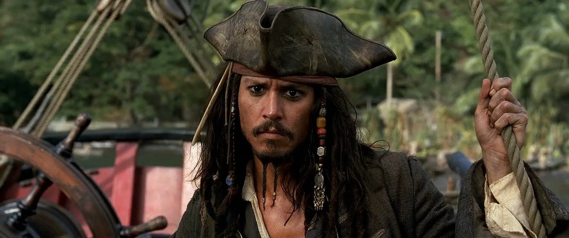 Pirates with Johnny Depp