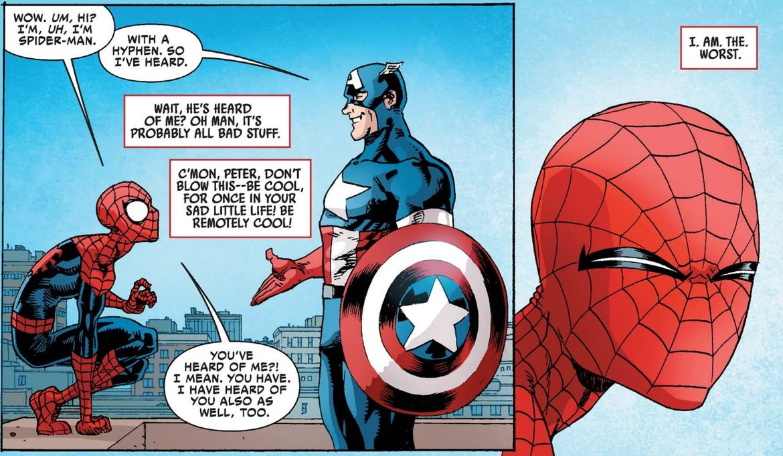 Peter Parker: My favorite hot mess