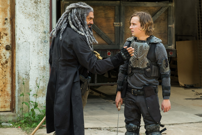The Walking Dead - King Ezekiel and Benjamin