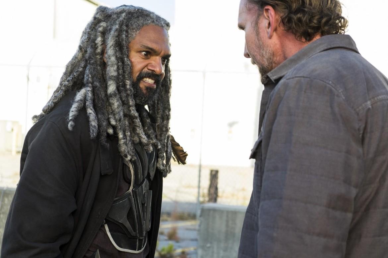 The Walking Dead - King Ezekiel and Rick