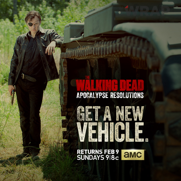The Walking Dead's David Morrissey as The Governor
