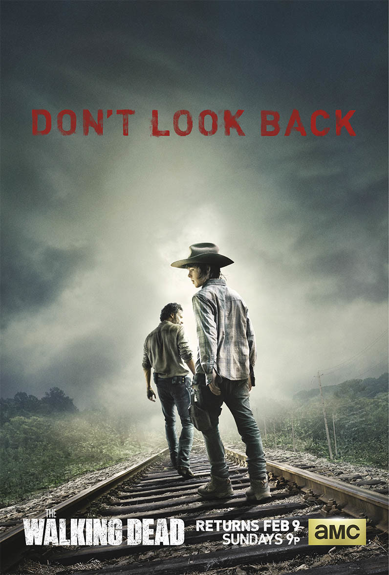 AMC Walking Dead Poster - Season 4B