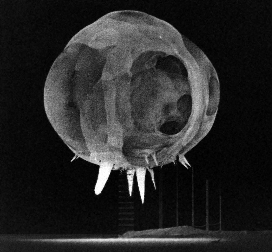 milliseconds after a nuclear detonation