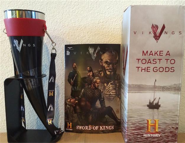 Vikings Swag at Comic-Con