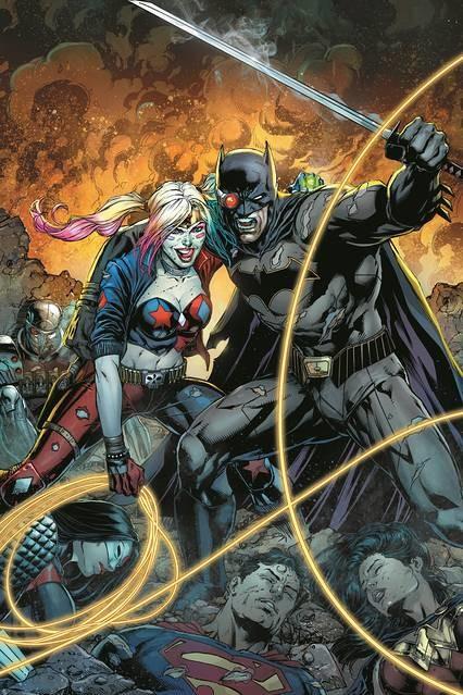 Justice League vs. Suicide Squad promo image