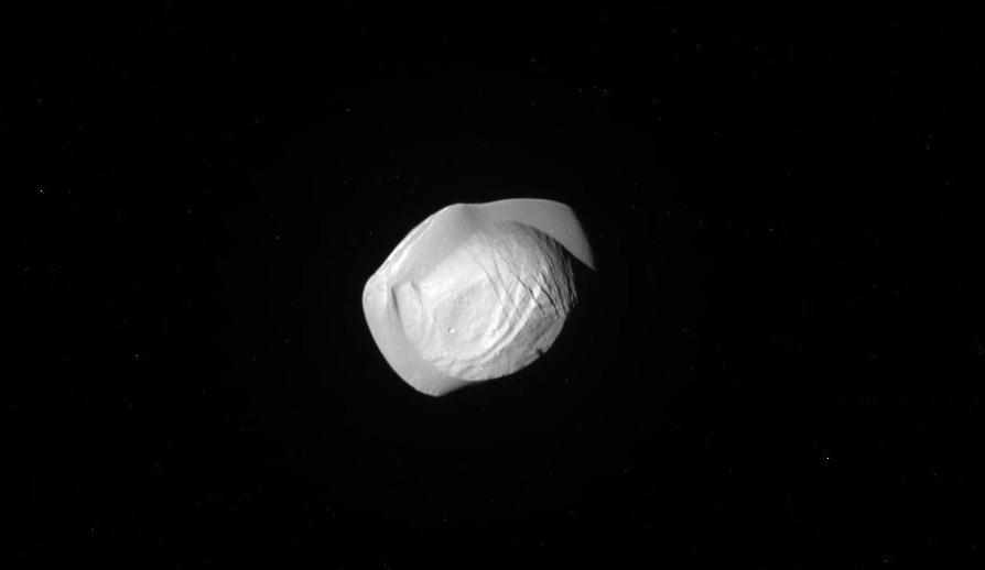 Saturn's moon Pan