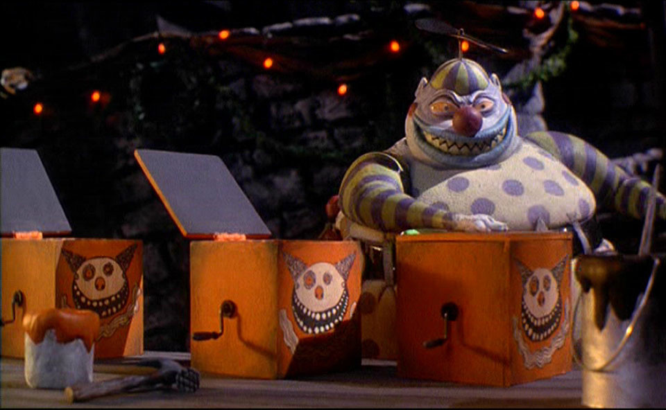 Nightmare Before Christmas Clown With A Tear Away Face.The 13 Best Characters From The Nightmare Before Christmas