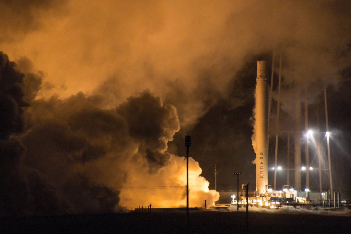 Falcon 9 booster test