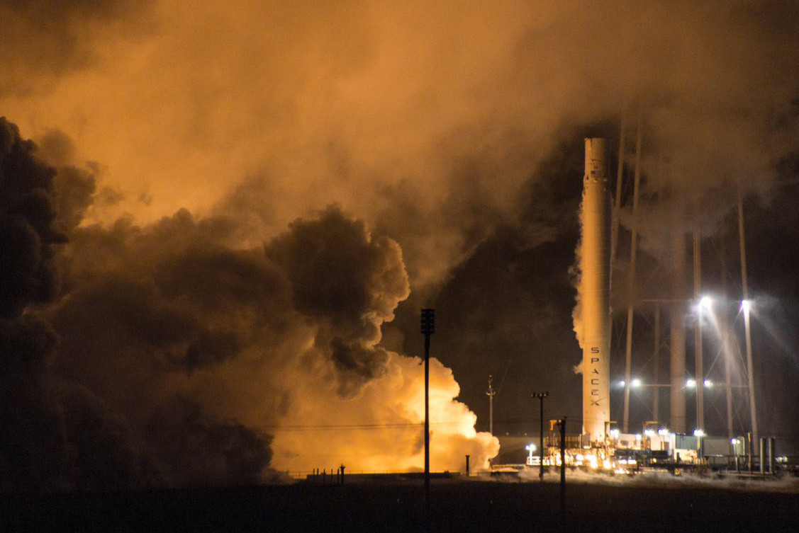 Falcon 9 booster test