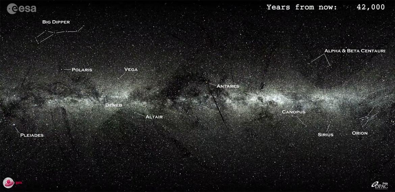 GAIA future starmap