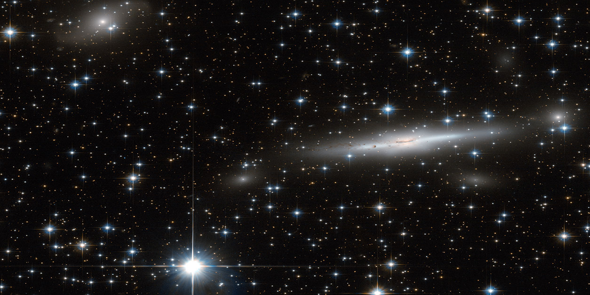 Hubble Telescope footage of the Great Attractor's Zone of Avoidance