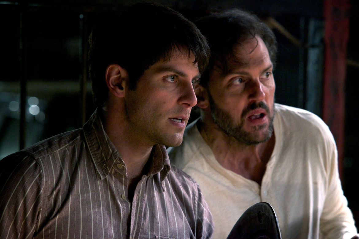 Grimm with Nick and Monroe
