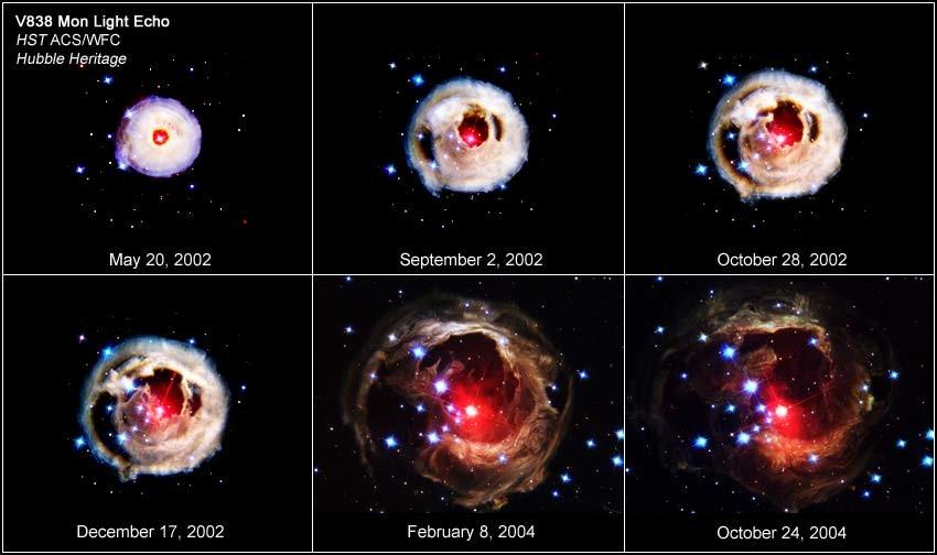 V838 Monocerotis sequence